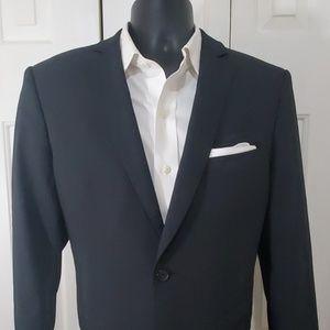 ZARA Man Basic Navy Blue Blazer Size 40
